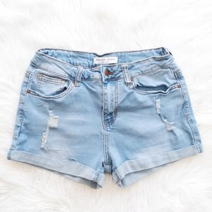 Encore High Rise Jean Shorts